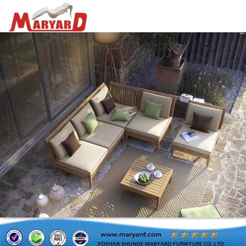 Un design moderne en bois de teck de mobilier de jardin ...