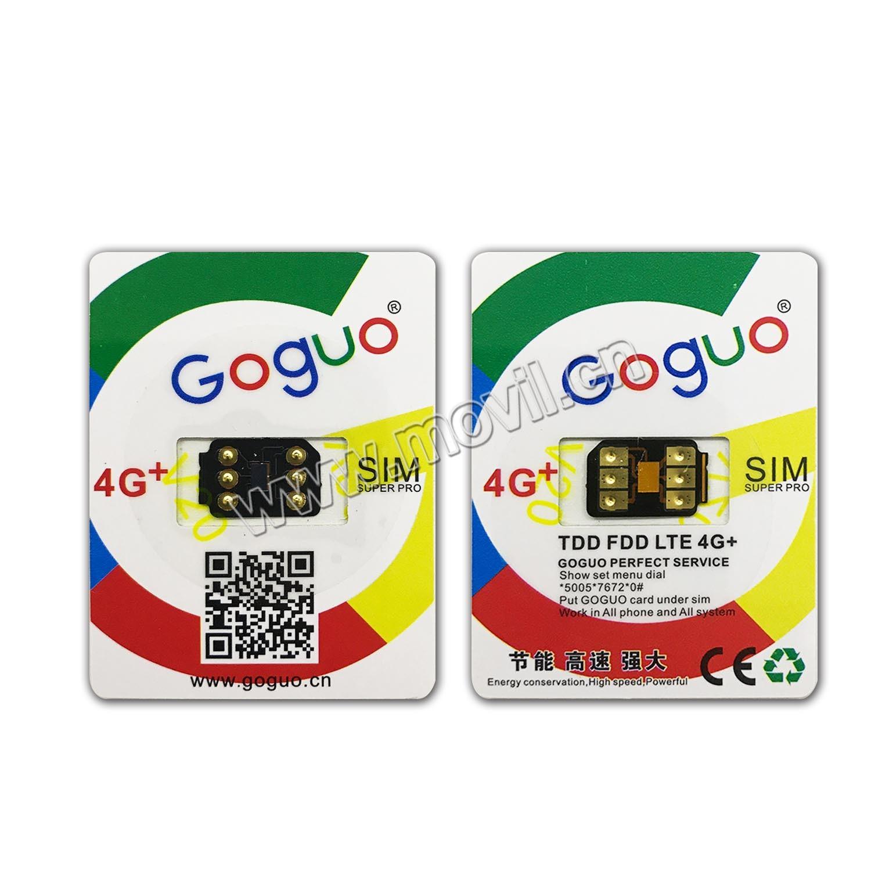 Sim Karte Entsperren Iphone 5.Hot Item Goguo V20 Sim Karte Entsperren Iphone 5 6 6s 7 Plus Für Allen Ios G M Cdma 2 3 4g
