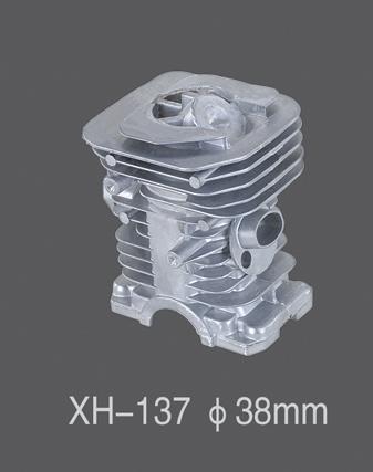チェーンソーのガソリンガソリンシリンダー(XH137)