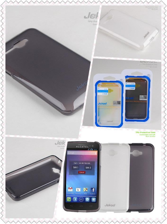Alcatel One Touch X Pop TPU ケース携帯電話保護用 ケース