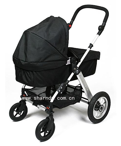 Nuevo cochecito de bebé con armazón de aluminio 210A con porta cuna