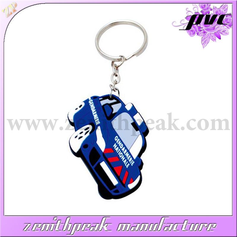 Kundenspezifische Auto-Form des Firmenzeichen-2D/3D weiches Kurbelgehäuse-Belüftung Keychain