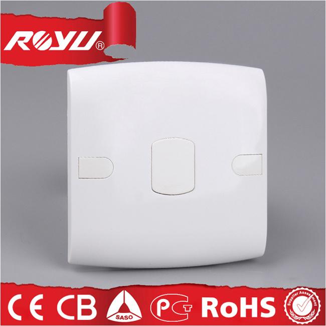 3*3 размера PC пластмассовых материалов пустой крышки белого цвета для установки на стену