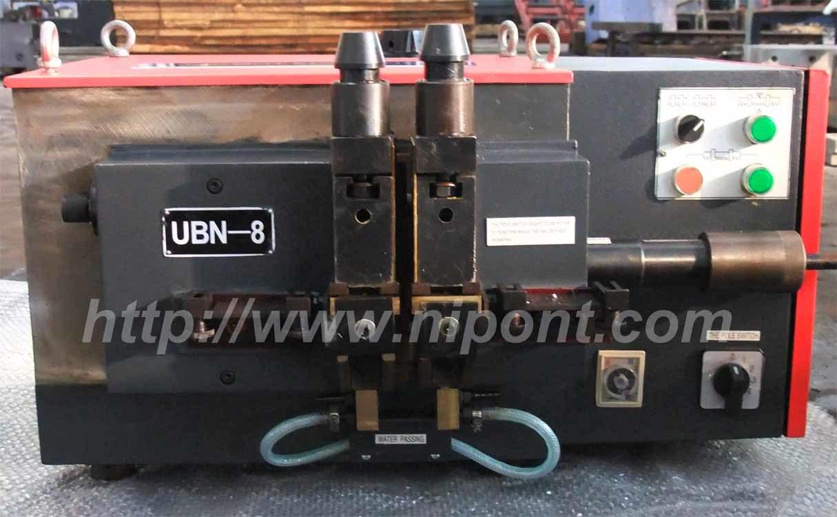 Machine de soudure pour les lames de scie ruban ubn 8 - Lame de scie a ruban ...