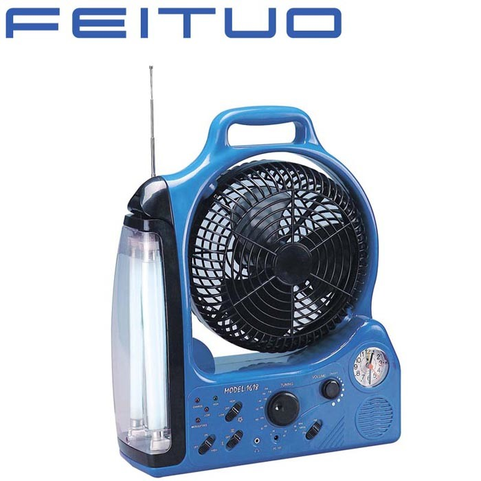 Nachladbarer Ventilator, Notleuchte