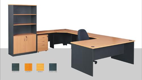 Muebles de oficina muebles de melamina estaci n de for Proveedores de muebles para oficina