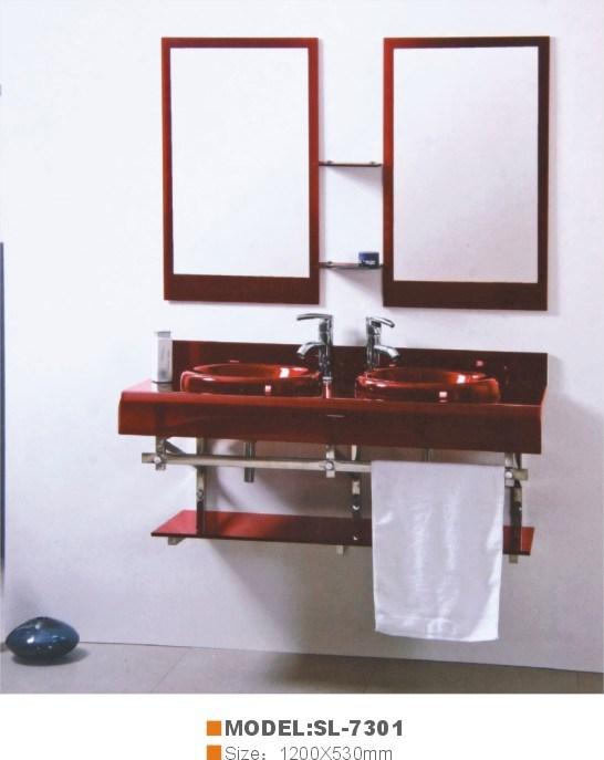 Lavatório de vidro (SL-7301)