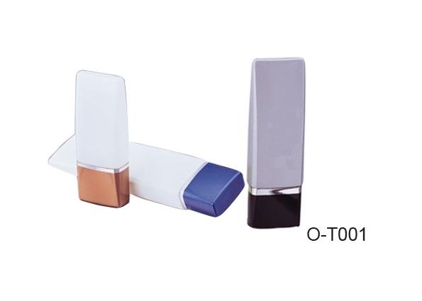 El tubo de cosméticos