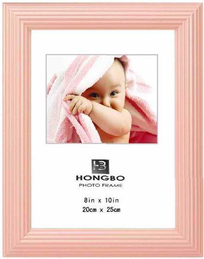 Moldura Fotográfica de PVC (L006-de-rosa)