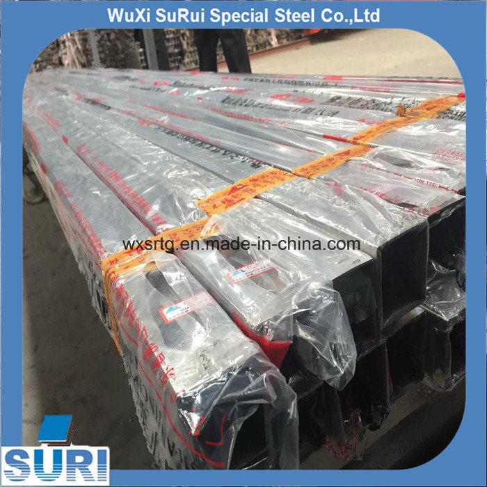 Tubo cuadrado de acero inoxidable sanitario soldada Tubería/tubo cuadrado de 304