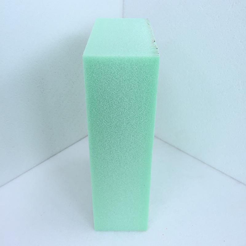 [فودا] انبثق بوليستيرين ([إكسبس]) زبد لون [ب1] درجة [200كبا] اللون الأخضر [50مّ] كثيفا