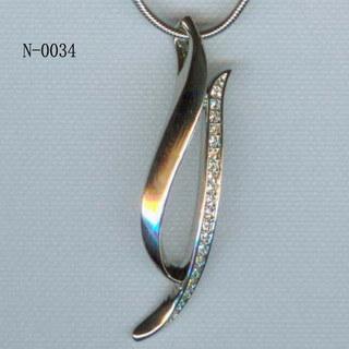 Nalaの合金のネックレス(N-0034)