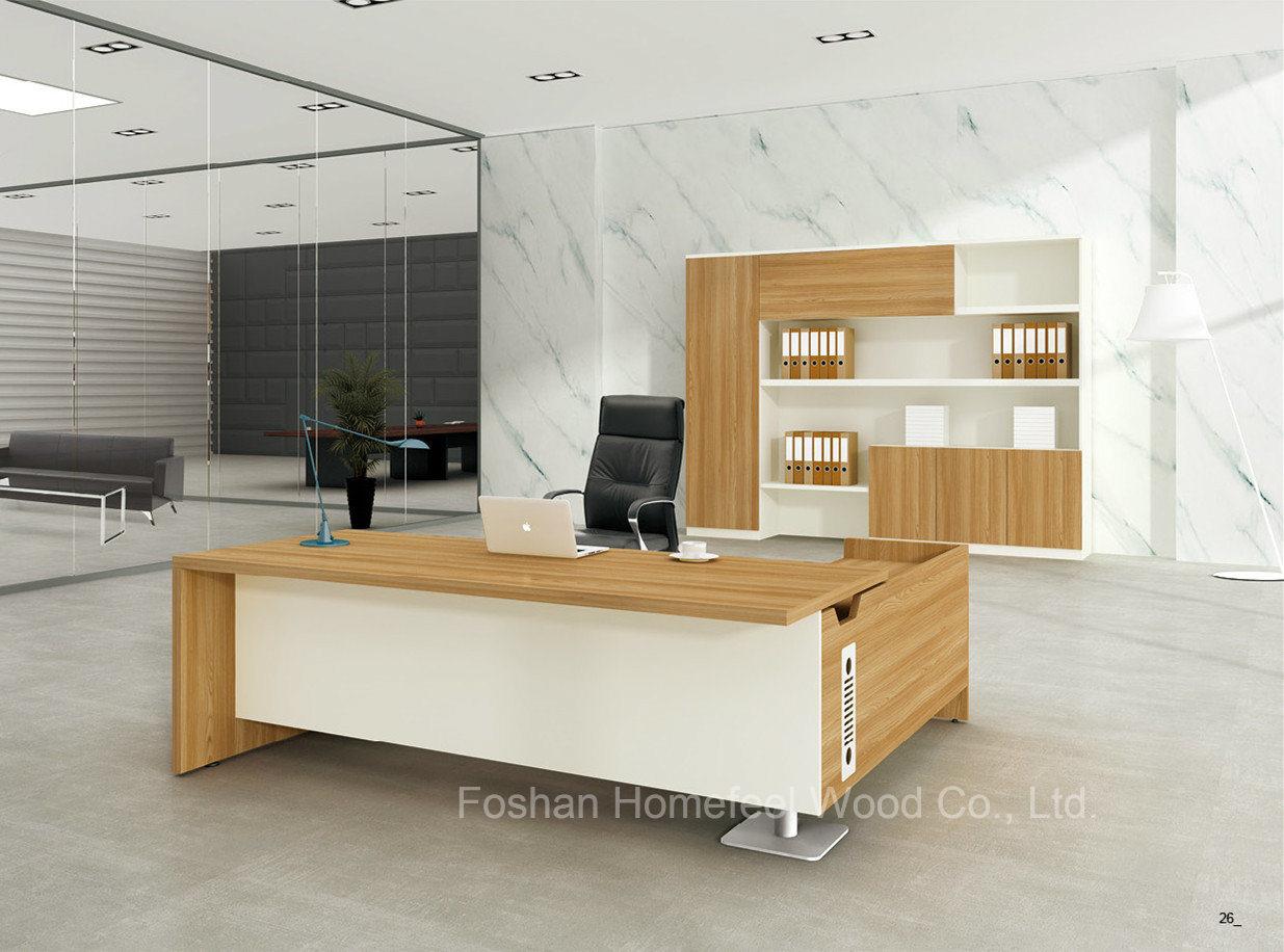 Mobilier de luxe moderne design bureau exécutif table office hf