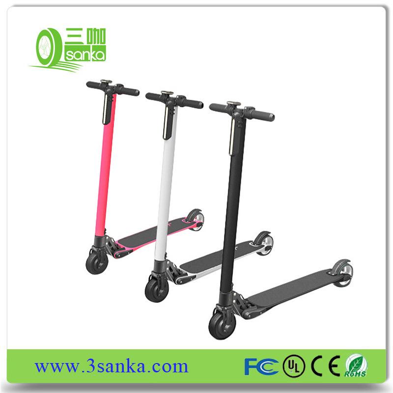 Der Cer-Zustimmungs-100W Rad-faltender Mobilitäts-Roller Lithium-Batterie-leichtes elektrisches der Kind-2