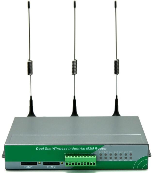 Промышленные M2m Lte 4G с двумя SIM-маршрутизатор 3G 4G беспроводной маршрутизатор с слот для SIM-карты на топливораспределительной рампе системы силовой передачи