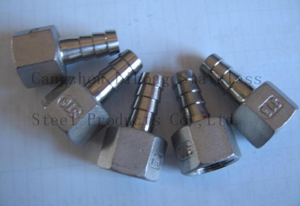 Raccordi per tubi in acciaio inox con filettatura femmina nipplo per tubi in fusione