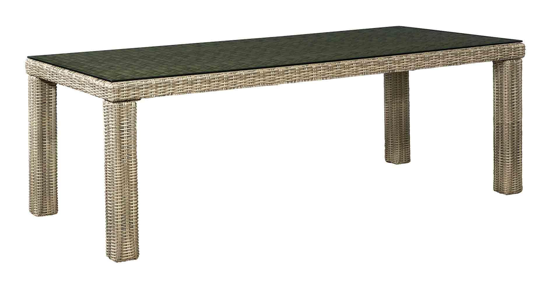 Foto de Juego de comedor nuevo diseño de muebles de mimbre Jardín ...
