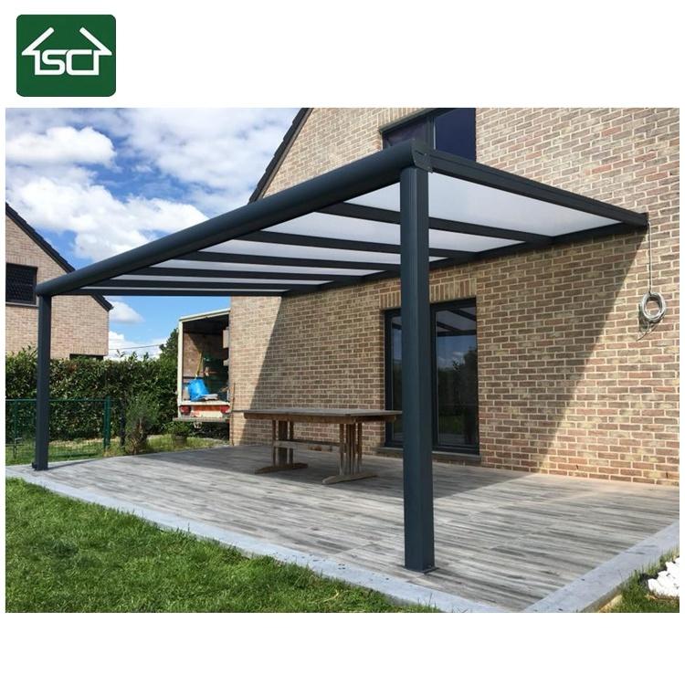 Hot Patio et terrasse couvrir/ aluminium Pergola avec toit en ...