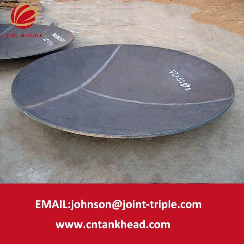 03-09 testa sferica standard di ASME da Section Forming 4600mm*25mm