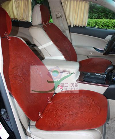 Подушка сиденья автомобиля из натуральной кожи