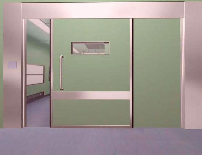 Porte coulissante Hôpital X-ray chambre hermétique automatique ...