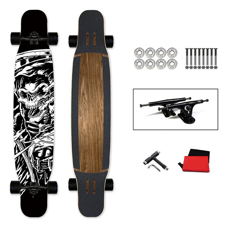 Fabriek Direct Supply Dance Skateboard Long Board met 4 wielen