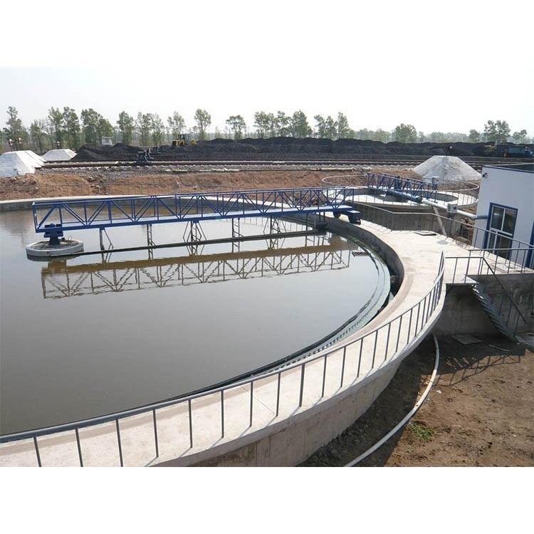 Eficiente espesador de lodos de aguas residuales de la unidad periférica de la rasqueta con
