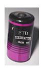 De Batterij van het Mangaan van het lithium (Batterij Li/Mn02)