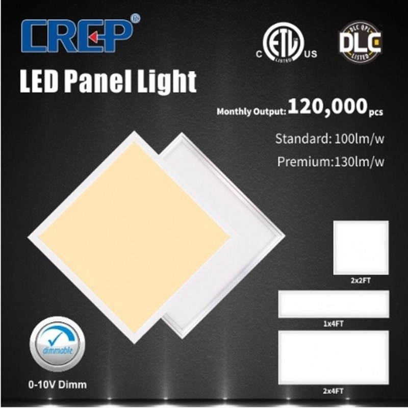 2 x 2FT 20 W/25 W/30 W/32 W/36 W/40 W/50 W/70 W 130 LM/W Flat LED Deckenleuchte