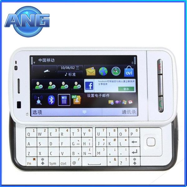 Original 3,2 pouces QWERTY Téléphone GPS C6