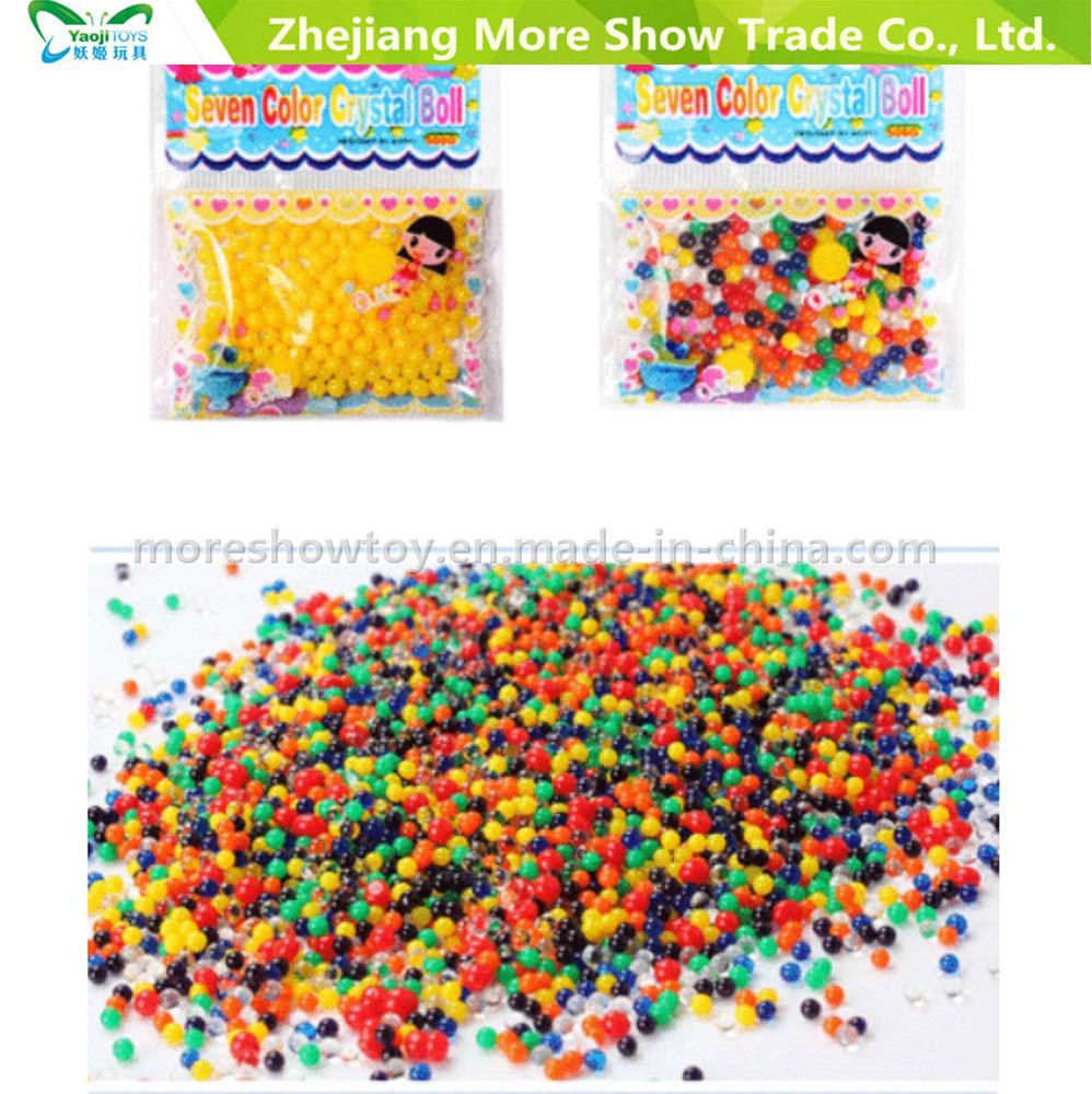 32ccaf9b0 5g de gel de arcoiris perlas de agua para el llenado de jarrones Decoración  Hogar los niños juguetes sensoriales táctiles – 5g de gel de arcoiris perlas  de ...