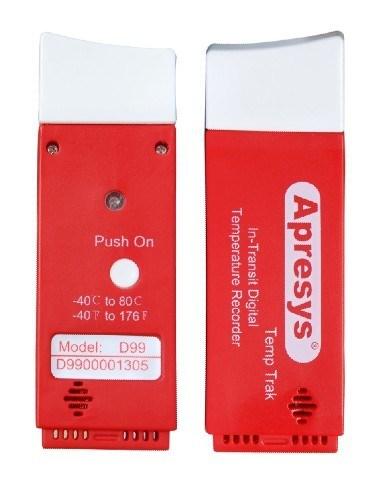 Apresys D-99 USB Disposable Temperature Data Logger Box of 10pcs