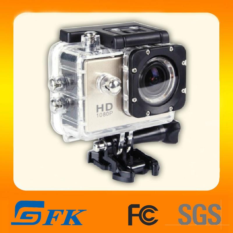 Action de came de vidéo Full HD 1080p 12MP Appareil photo étanche Sports (SJ4000)