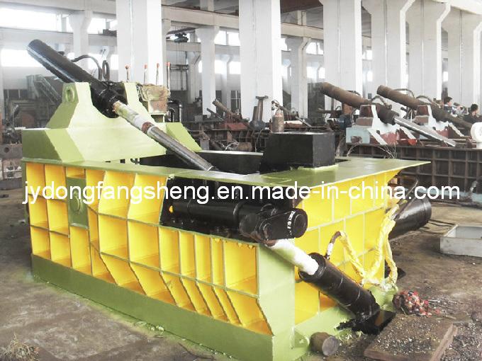 Y81F-160b sucata de aço Metal hidráulico da enfardadeira
