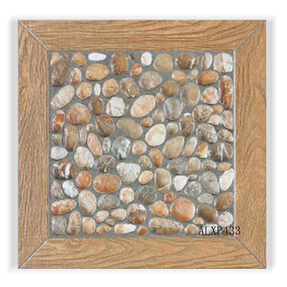 Foto de Los materiales de construcción de piedra de guijarros ...