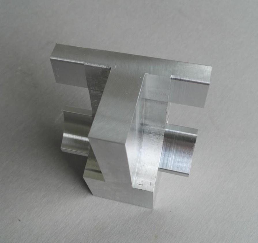 Serviço de OEM de precisão alumínio maquinado CNC parte