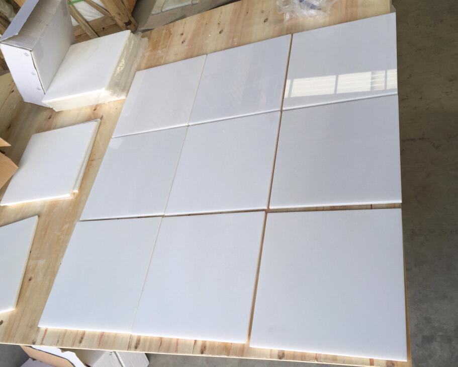 Mattonelle bianche mattonelle di ceramica mattonelle della