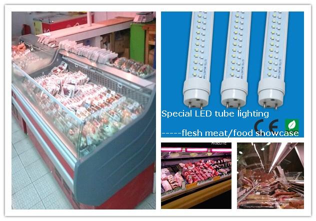 1,500 mm 5 フィート 22 W LED レッド / ホワイトチューブ T8 動物用肉用