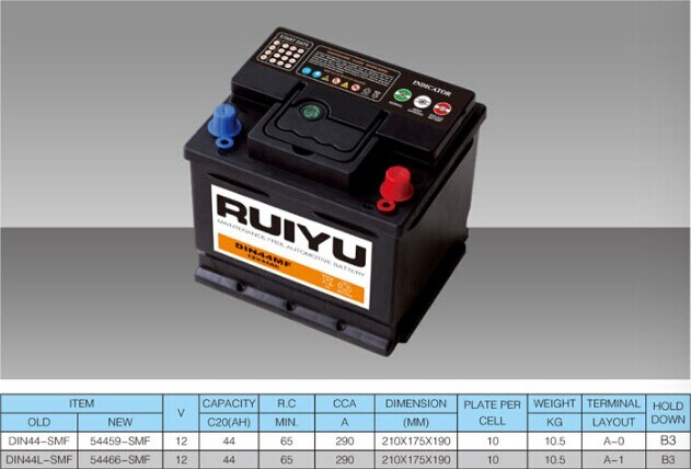 12 V batterie plomb-acide 55459 SMF