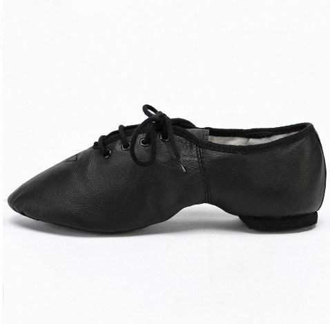 Zapatos de jazz de los niños de la calidad de adultos de zapatos de baile de Oxford (AKD004715)