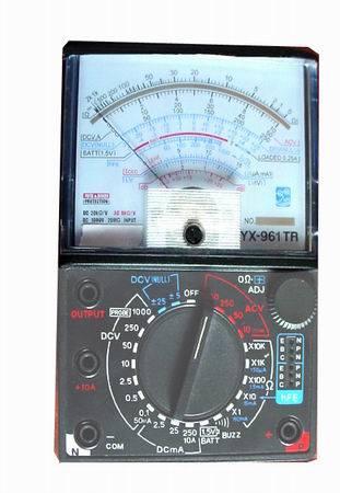 El multímetro (YX-961)