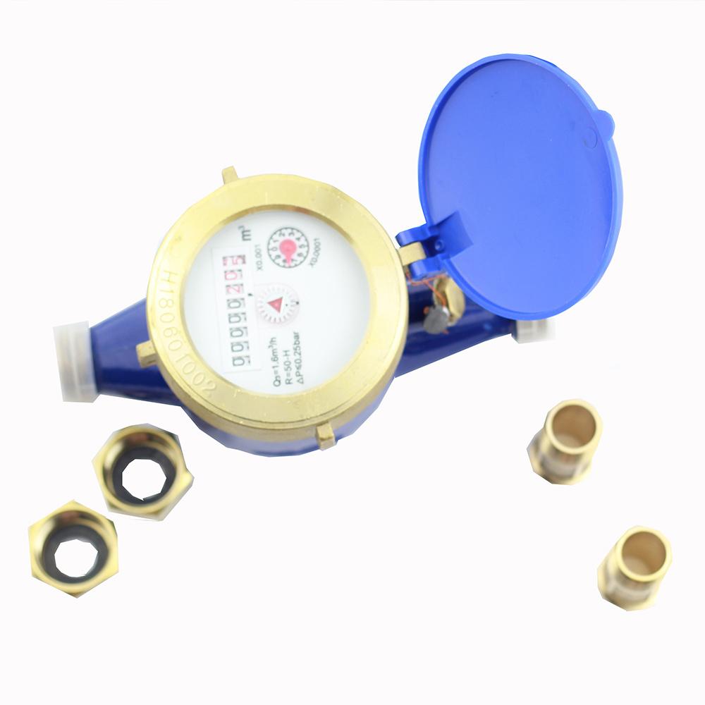 Il liquido durevole del rotore del metro ad acqua sigillato Multi-Scorre metro ad acqua freddo