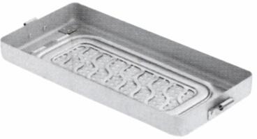 Mini-Peforated Bottoms com placas de retenção