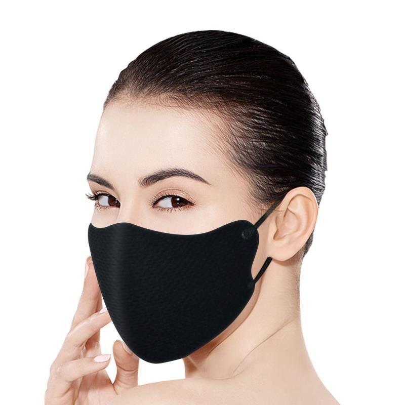 Modische Schwarz Austauschbare Kern Maske Kann Wiederverwendet Werden, Gewaschen, Staubdicht, Anti-Troplet, Atmungsaktiv