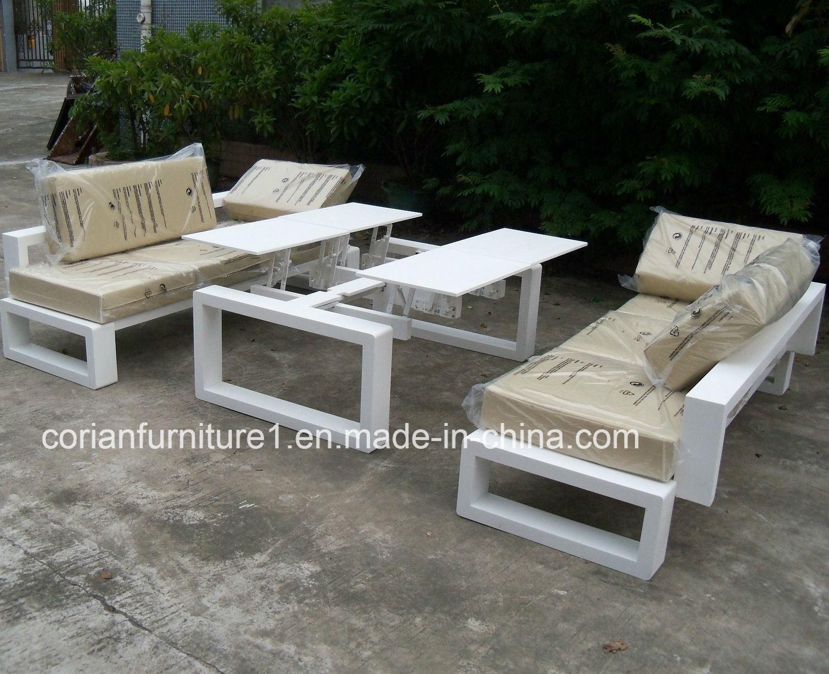 Corian Surface solide la porte de table et chaise de jardin ...