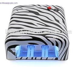 Customized Qualquer Estilo Padrão 36W Lâmpada unha UV Material ABS 818 Lâmpada de cura UV