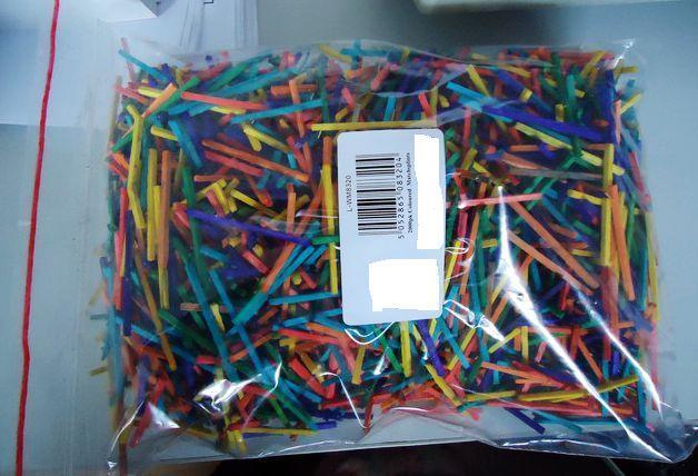 Bâtons de correspondance des couleurs