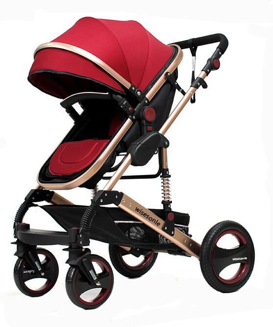 Het luxe Frame van de Legering van het Ijzer voor de Wandelwagen van de Baby