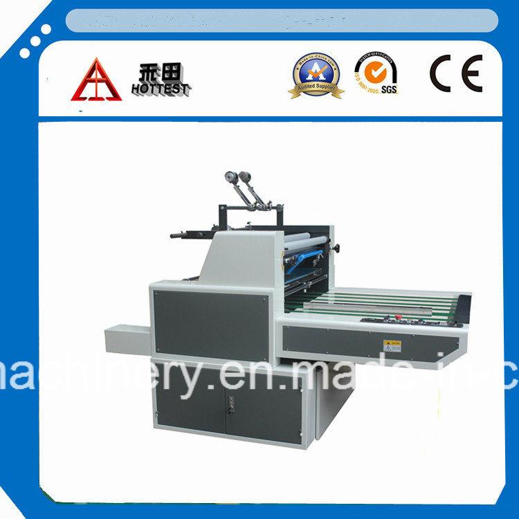 Fms-1020 Manual-Type máquina laminadora película Soluble en agua para que la Junta, PVC laminado laminado en frío de la máquina, la película PET PE