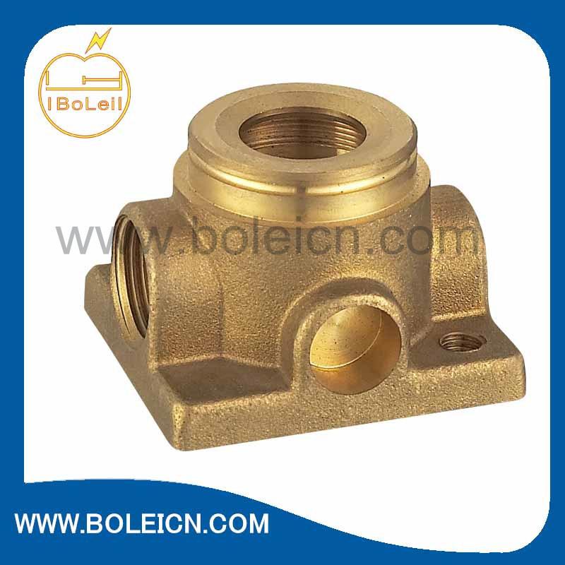 Laiton forgé de moulage de l'eau le corps de pompe de circulation Pièces de pompe (BL-2117)